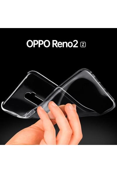 Microsonic Oppo Reno 2Z Kılıf Transparent Soft Beyaz