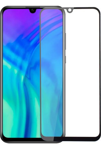 Microsonic Huawei Honor 20 Lite Tam Kaplayan Temperli Cam Ekran Koruyucu Siyah