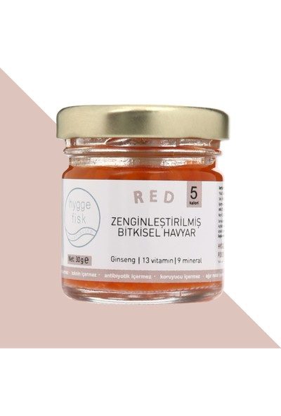Hyggefisk Havyar Red - 13 Vitamin, 9 Mineral, Ginseng