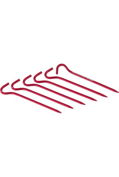 Msr Hook Stakes Kit Çadır Kazığı 6'Lı Kırmızı