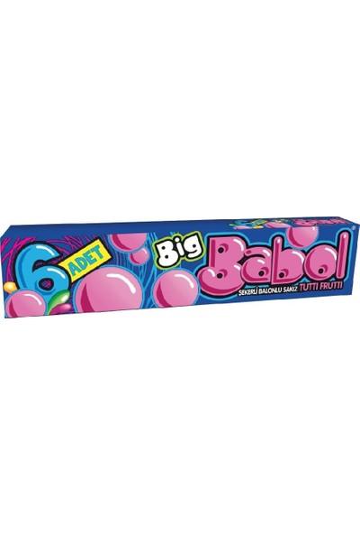 Big Babol Stick Tutti Frutti 18'li x 25 gr