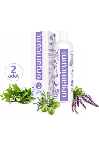 Organicum Aktif Saç Kremi 350 ml x 2 Adet