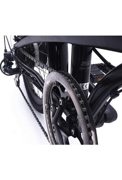 Benelli Zero N2.0 Disc Katlanabilir Elektrikli Bisiklet - Siyah