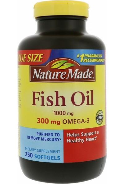 Nature Made Fish Oil Balık Yağı 250 Tablet