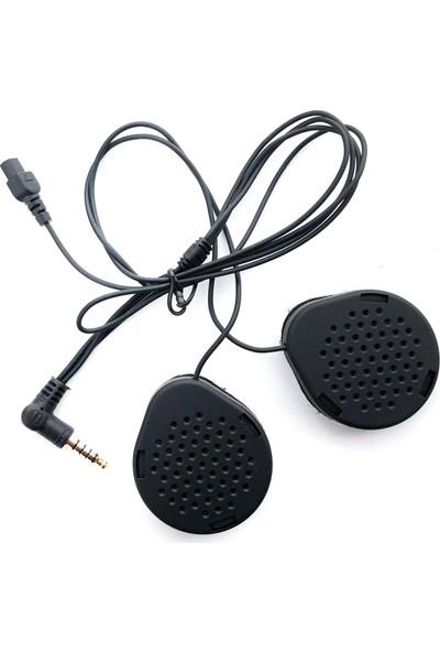 Knmaster Kask Bluetooth Intercom Kn4000 / Tekli / 1800M. / Radyo