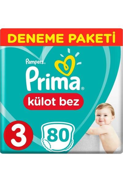 Prima Pants Külot Bebek Bezi 3 Beden 80 Adet
