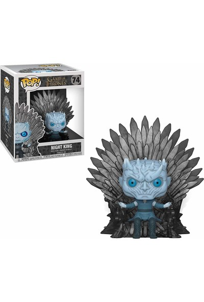 Funko POP Deluxe Figür - Game of Thrones, Night King on Throne