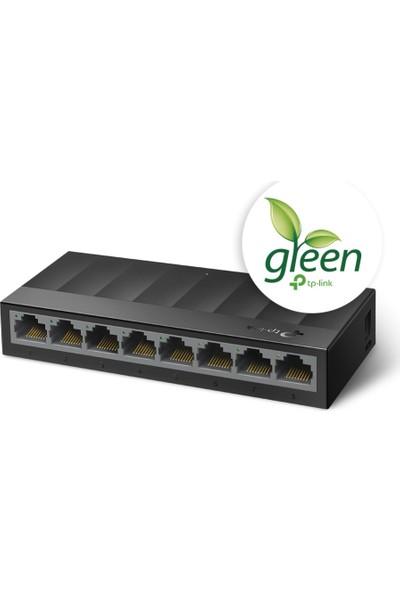 TP-Link LS1008G 8-Port 10/100/1000Mbps Masaüstü Switch