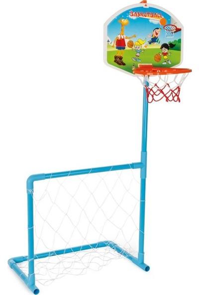 Pilsan Magic Basket Potası ve Futbol Kale Seti