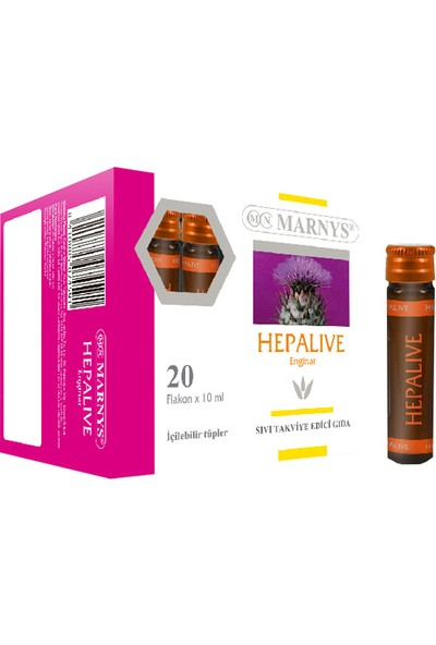 Marnys Hepalive 10 ml Oral Amp