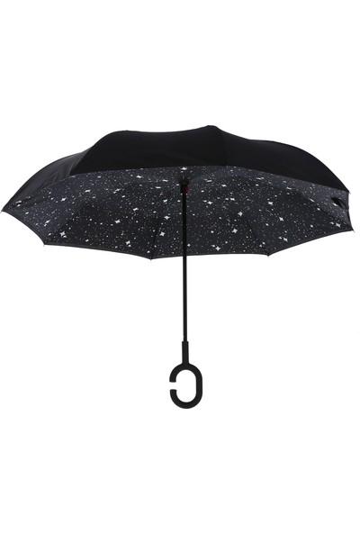 Joystar Ters Dönmez Standlı Şemsiye
