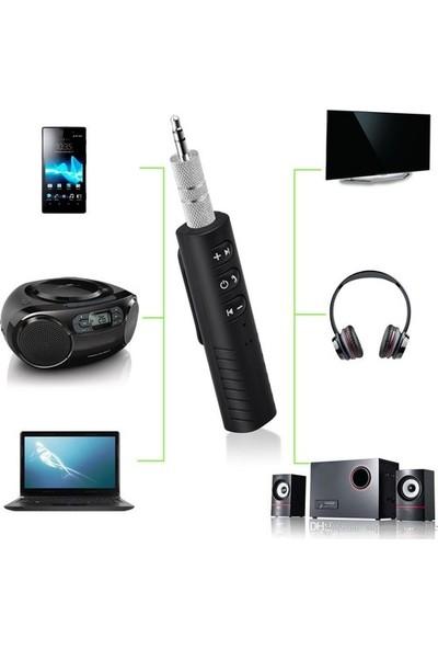 Case 4U Car Bluetooth Music Driver Araç Aux Hands-Free Mp3 Bağlantı Kiti