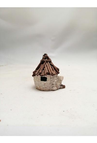 Ender Peyzaj Teraryum ve Minyatür Bahçeler Için Bungalov Ev Minyatür Obje