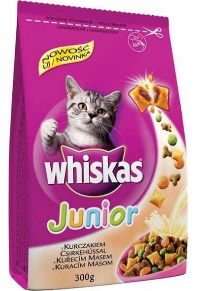 Whiskas Junior Kitten Yavru Tavuklu Kedi Maması 300 gr