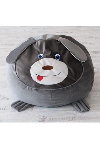 Minderium Minidog Füme Çocuk Armut KoltuğuPuf Köpek