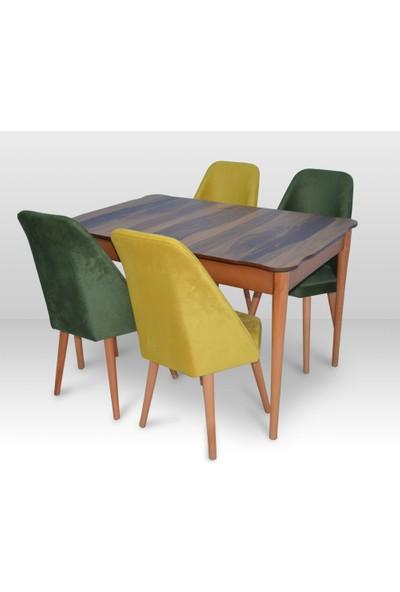 Misswoodentr Modern Ceviz Masa & Sandalye