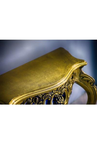 Misswoodentr Altın Varak Dresuar