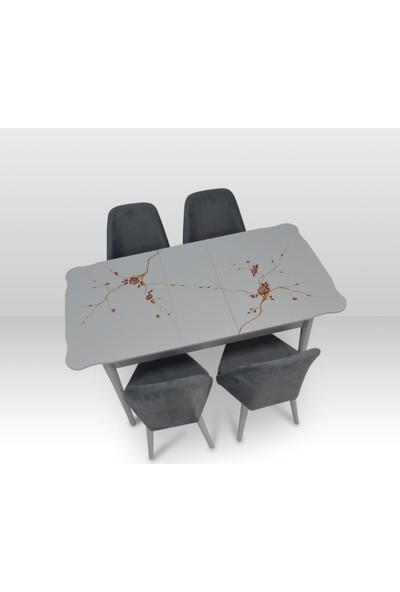 Misswoodentr Modern Mutfak Masa Sandalye