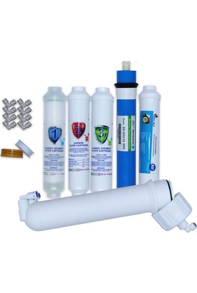 Aqua Clean Su Arıtma Cihazı 5'li Set 2'' Waterbox Cihazlara Uyumludur