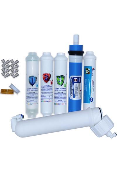 Aqua Clean Su Arıtma Cihazı 5'li Set Lg Mebranlı 2'' Waterbox Cihazlara Uyumludur