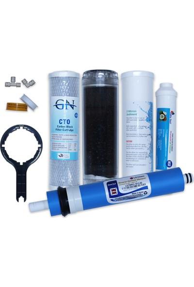 Aqua Clean Su Arıtma Cihazı 5'li Set Lg Mebranlı İhlas ve Açık Kasa Tüm Cihazlara Uyumludur