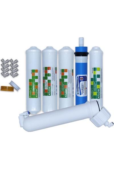 Aqua Clean Su Arıtma Cihazı 5'li Set Lg Mebranlı Waterbox Cihazlara Uyumludur