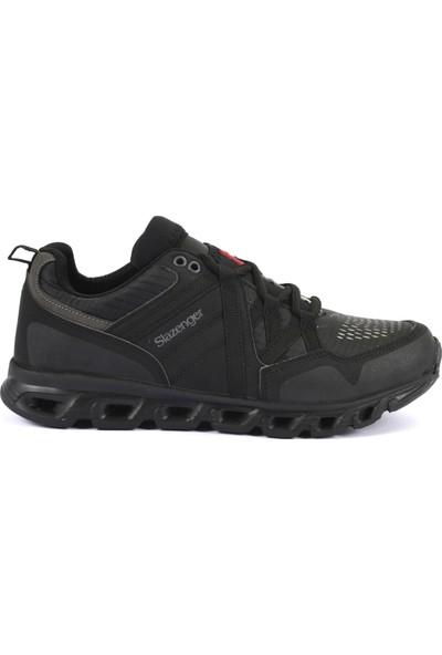 Slazenger Faculty Koşu & Yürüyüş Erkek Ayakkabı Siyah