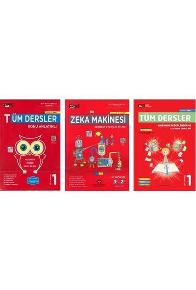 Soru Bankası Merkezi 1. Sınıf Tüm Dersler Set 3 Kitap