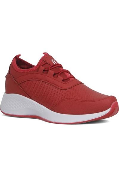 Moda Taraz Kadın Spor A318 Kırmızı Spor Ayakkabı