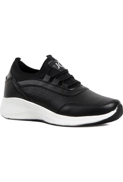 Moda Taraz Kadın Spor A314 Siyah Spor Ayakkabı
