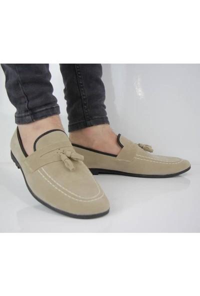 Moda Taraz Erkek Günlük Ayakkabı A189 Berlin Bej Ayakkabı