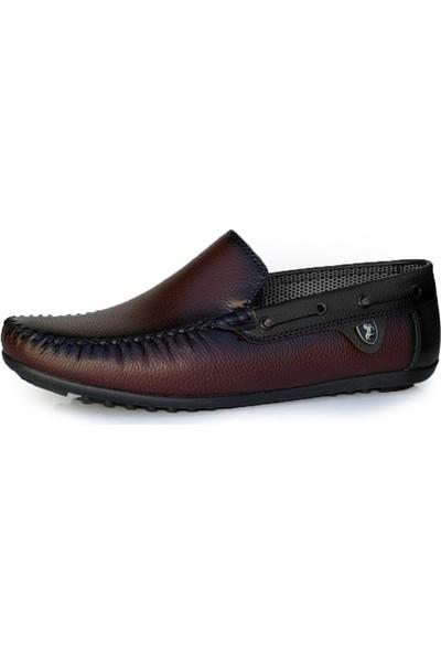 Moda Taraz Erkek Günlük Ayakkabı A226 Cause Bordo Ayakkabı