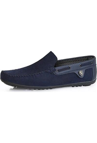 Moda Taraz Erkek Günlük Ayakkabı - A225 Nante Lacivert Ayakkabı