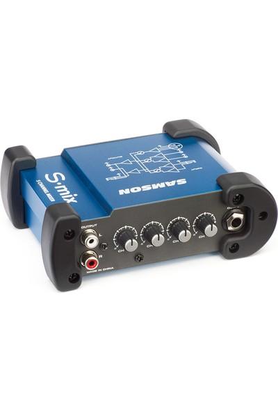 Samson S-Mıx 5 Kanal Mini Mixer