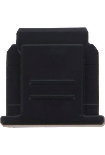Ayex Sony Mi Hot Shoe Flaş Kızağı Için Hot Shoe Kapağı FA-SHC1M Siyah