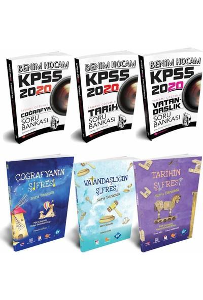 Benim Hocam Yayınları 2020 KPSS Coğrafya Tarih Vatandaşlık Soru Bankası Setleri