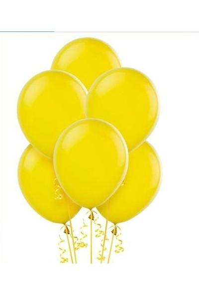Datapos Metalik Sarı Balon 30 Adet