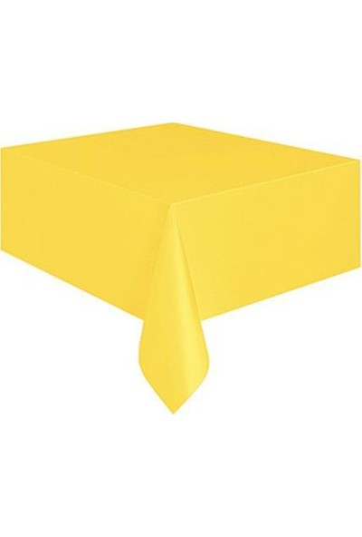 Datapos Sarı Plastik Masa Örtüsü 120X180 cm