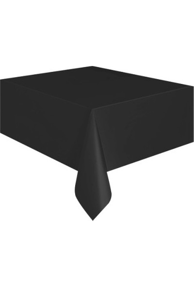 Datapos Siyah Plastik Masa Örtüsü 137X183 cm
