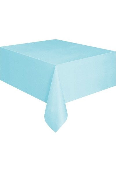 Datapos Mavi Plastik Masa Örtüsü 120X180 cm