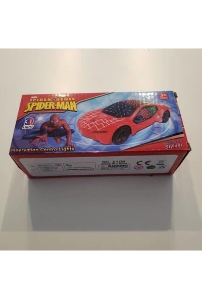 Suden Örümcek Adam Spiderman Işıklı Müzikli Araba