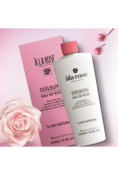 Ala Rose Naturel Gül Suyu 250 ml
