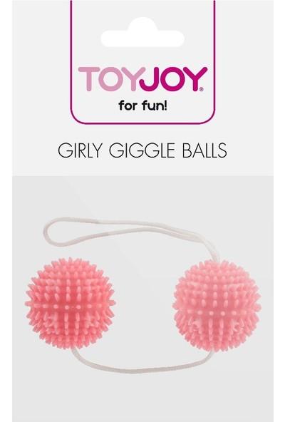 Toyjoy Girly Giggle Love Balls Yumuşak 2'li Anal ve Vajinal Toplar