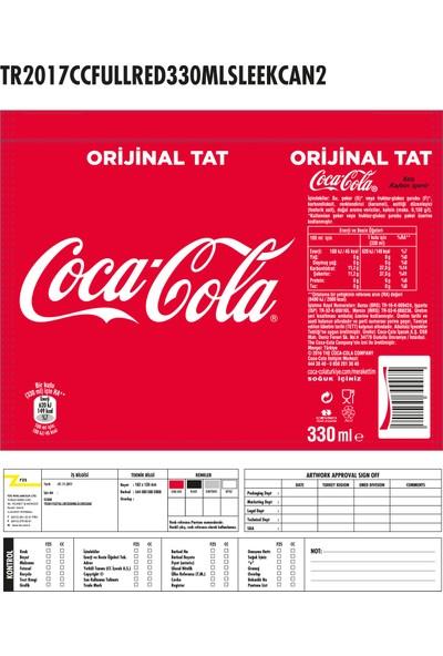Coca-Cola 330 ml, 24'lü Paket