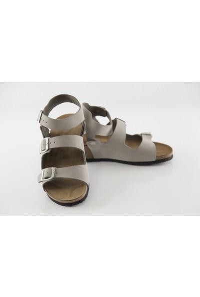 Ballerın'S Alaba Kadın Gri Sandalet