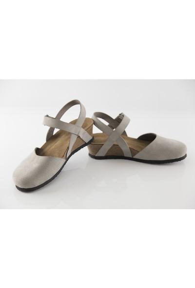 Ballerın'S Peıge Kadın Gri Sandalet