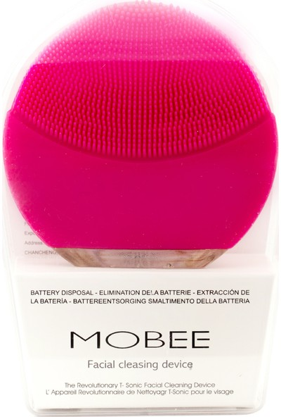 Mobee Luna Mini 2 Fuchsia Cilt Temizleme Cihazı