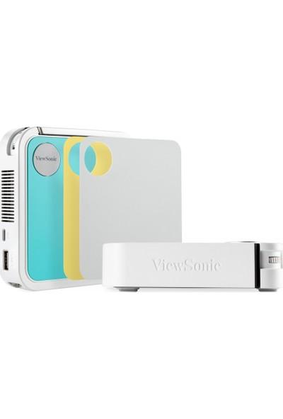Viewsonic M1 Mini JBL Hoparlörlü Bataryalı 854x480 Cep LED Projeksiyon Cihazı
