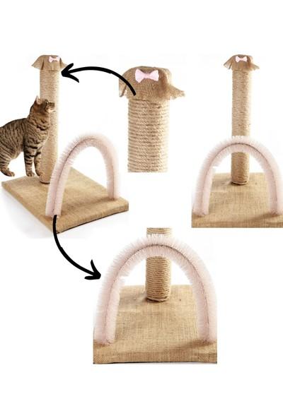 By Pet Pembe Fiyonklu Kedi Kaşınma ve Tırmalama Tahtası