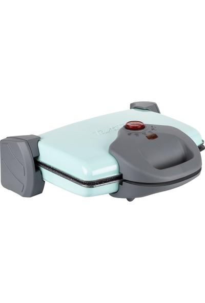 Tantitoni Granit Plakalı Mint Izgara ve Tost Makinesi